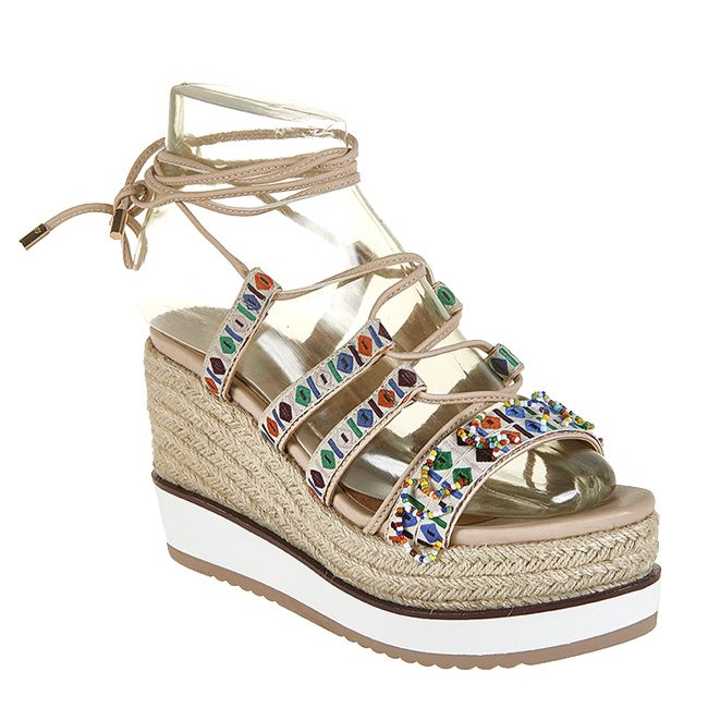 bd9d446f433 Women s crochet platform sandals in Shoes Party