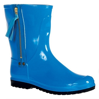 Women's rainboots with zipper