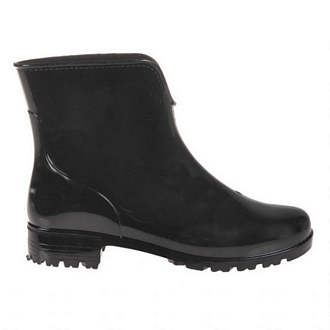 Women's self-colored short rainboots