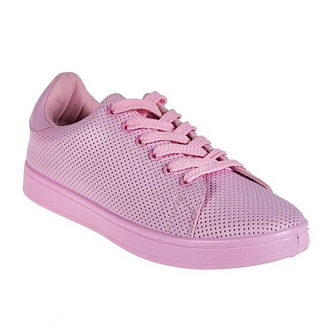 Women's perforated sneakers