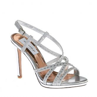 Women's multistrap sandals with strasses