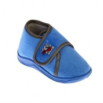 Babies closed-back slippers with stickers - Mitsuko